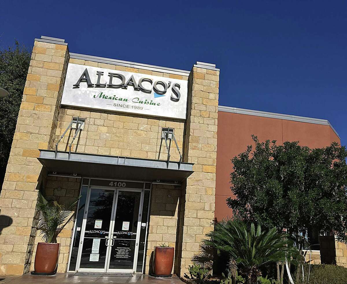 Aldaco's Mexican Cuisine on Stone Oak Parkway in San Antonio. For Mike Sutter's 365 Days of Tacos series.