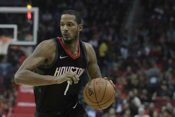 Despite a sore left foot, forward Trevor Ariza was out on the court as usual Wednesday night doing anything and everything that the Rockets required.