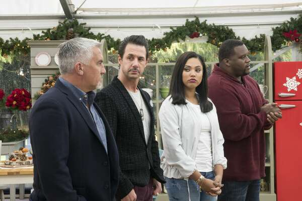 "ABC's ""The Great American Baking Show"" with Paul Hollwood, Johnny Iuzzini, Ayesha Curry Anthony Adams."