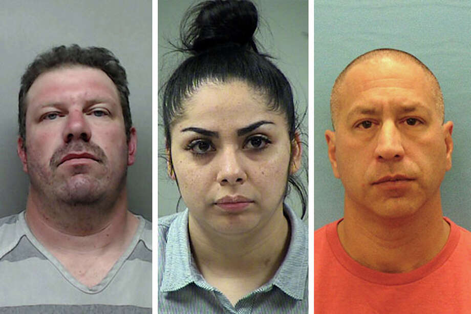 Click ahead to view San Antonio law enforcement officers, firefighters in trouble with the law. Photo: Bexar County Sheriff's Office, Guadalupe County Jail