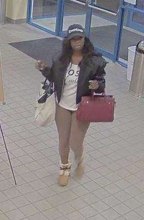 Maryville Police are asking citizens to help identify this woman. She is suspected of allegedly stealing a credit card from the Maryville YMCA locker room. Photo: For The Intelligencer