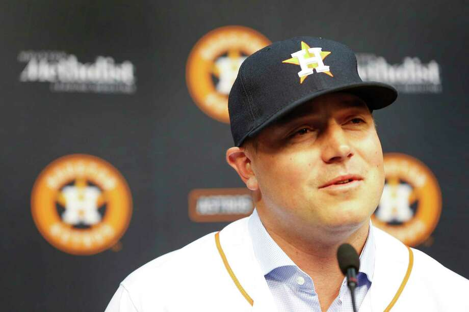 PHOTOS: What you need to know about the newest Astros relieverThe Houston Astros introduced relief pitcher and free-agent signee Joe Smith Thursday, Dec. 14, 2017, in Houston.Browse through the photos for everything you need to know about Joe Smith. Photo: Steve Gonzales, Houston Chronicle / © 2017 Houston Chronicle