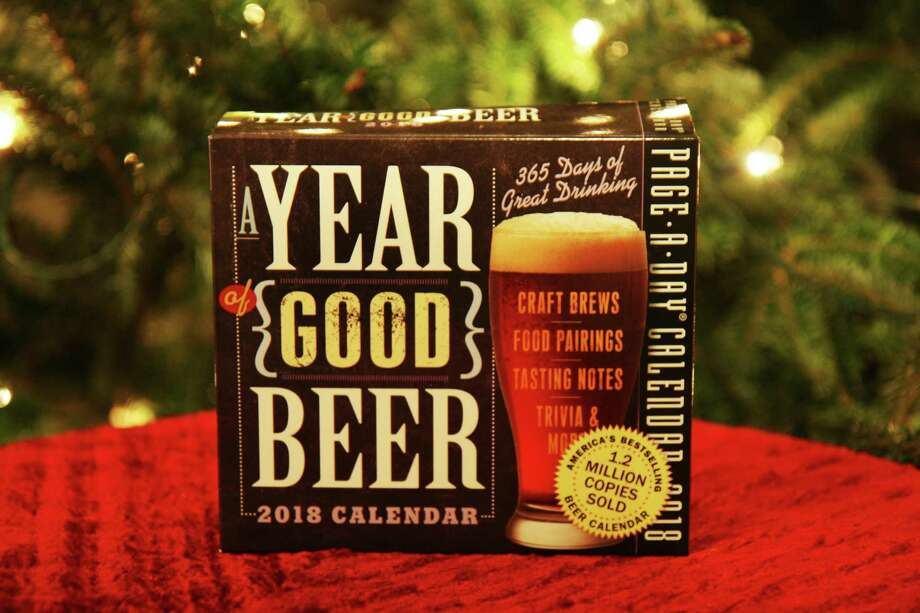 """A Year of Good Beer"" daily desk calendar, $10: This calendar gives a beer lover a daily dose of reviews of beers from around the country, descriptions of unusual beer styles native to areas all around the world, suggestions for pairing food and beer and assorted beer trivia. Some days are a disappointment because they review beers not available here, but with beer tourism a growing industry, maybe they're on to something. Photo: Markus Haas /San Antonio Express-News / San Antonio Express-News"