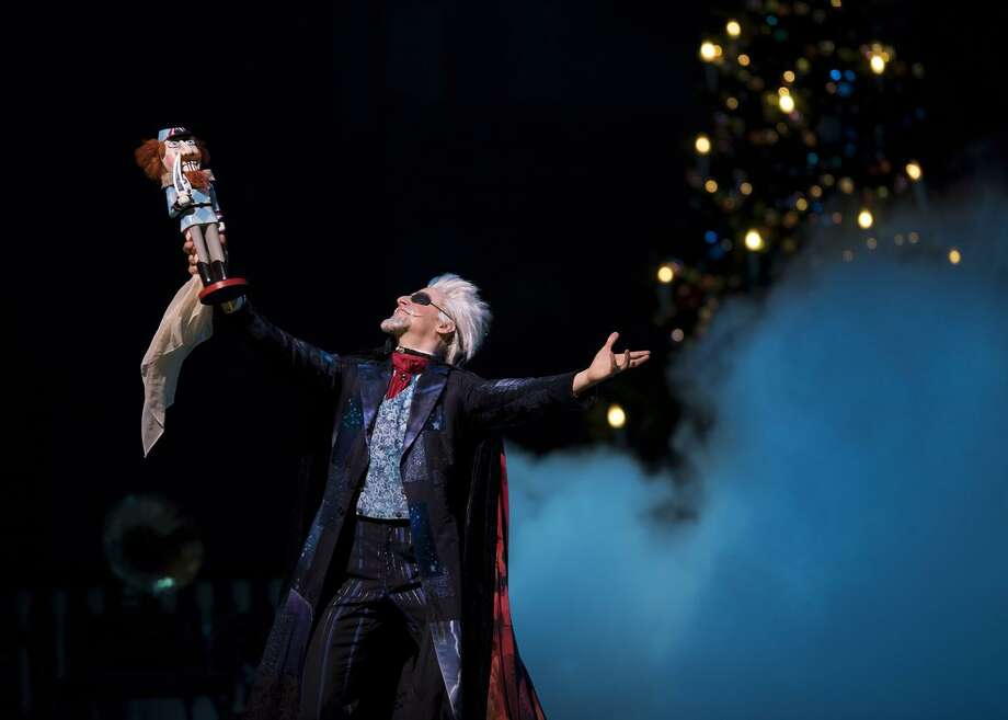 "Rubén Martín Cintas plays a swashbuckling Uncle Drosselmeyer, the magical master of ceremonies in the S.F. Ballet's production of ""Nutcracker."" Photo: Erik Tomasson / © Erik Tomasson"