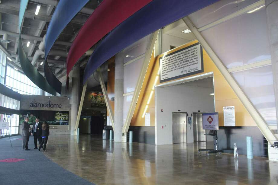 A ceremony Aug. 30 showed off the $60 million renovation of the Alamodome. Photo: Lindsey Carnett / San Antonio Express-News