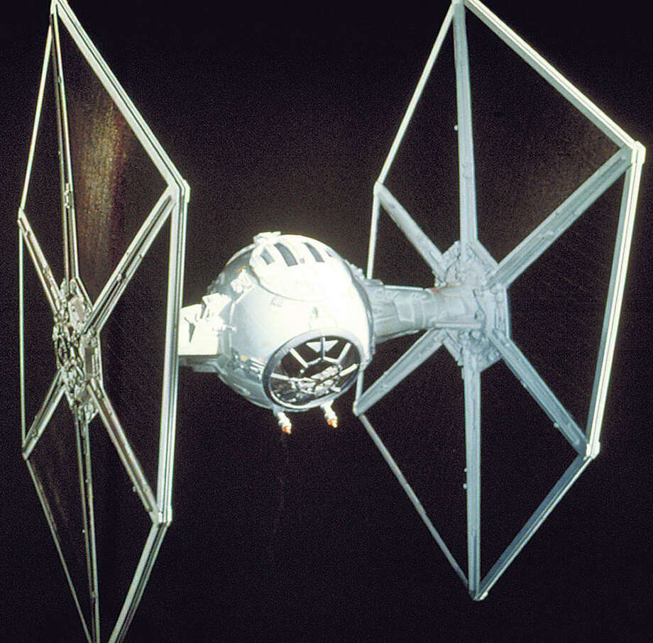 A TIE fighter. Photo: Houston Chronicle