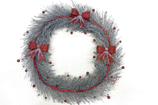 Group category semifinalist, from the Center for Disability Services. Wreath for Circles of Caring contest on Monday Nov. 27, 2017 in Colonie, N.Y. (Lori Van Buren / Times Union)