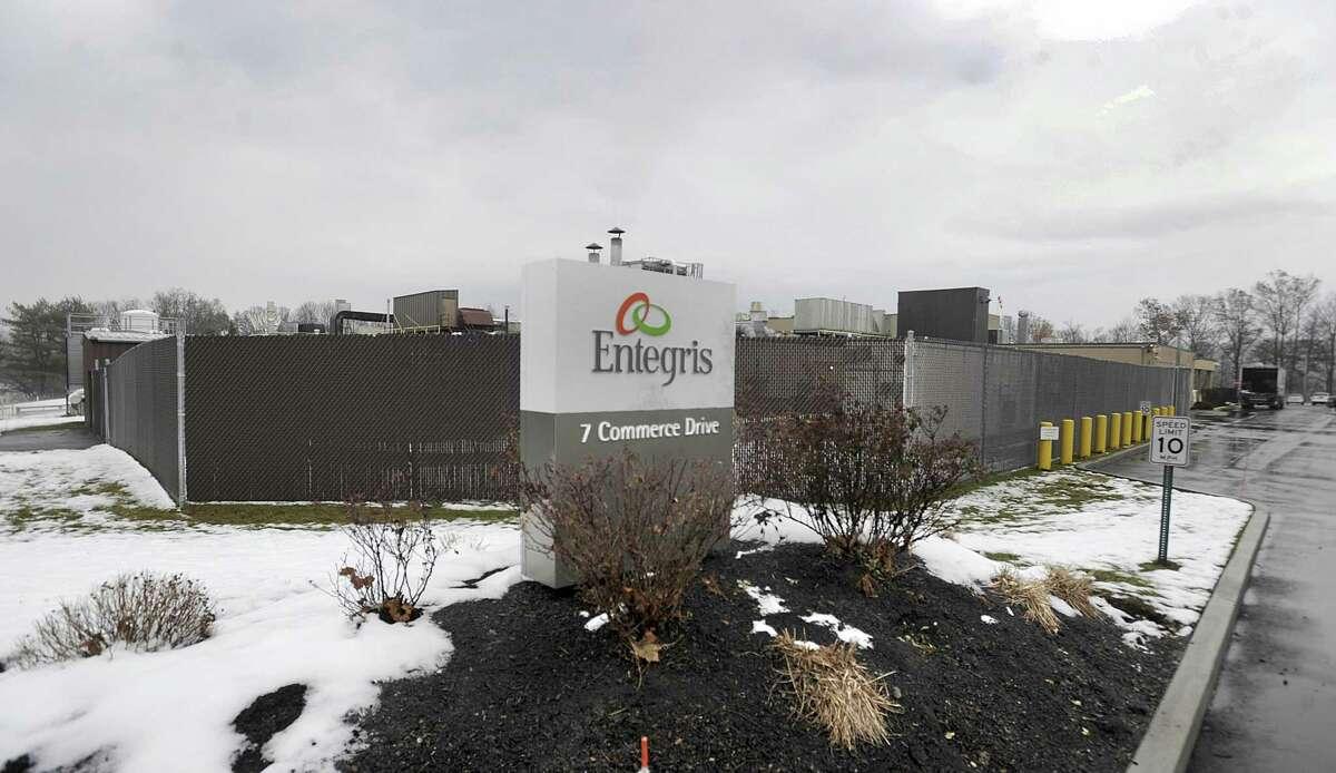Entegris, 7 Commerce Drive, Danbury, CT. Photo Tuesday, Dec. 12, 2017.