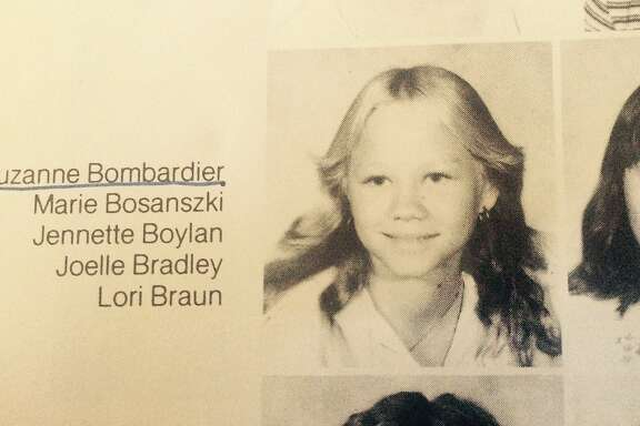 Suzanne Bombardier's 7th grade yearbook photo