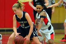 Elle Fair and the rest of the Staples squad takes on New Canaan in its home opener on Friday night at 7 p.m.