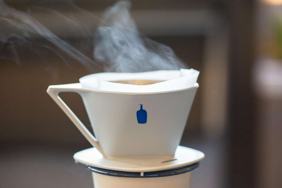 Blue Bottle Coffee is now selling coffee grown in California. Photo: Alicia Cho