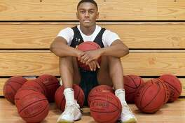 Amity senior forward Tyler Thomas may be the top player in the SCC this season.