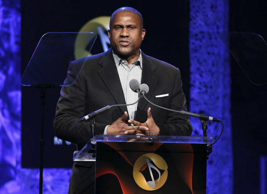 "FILE - In this April 27, 2016 file photo, Tavis Smiley appears at the 33rd annual ASCAP Pop Music Awards in Los Angeles. PBS says it has suspended distribution of Smiley's talk show after an independent investigation uncovered ""multiple, credible allegations"" of misconduct by its host. (Photo by Rich Fury/Invision/AP, File) Photo: Rich Fury, Associated Press"
