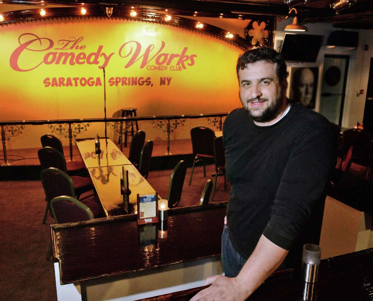 Tommy Nicchi in his Comedy Works venue at 388 Broadway Friday May 6, 2016 in Saratoga Springs, NY. Keep clicking for concerts and comedy shows headed to our area.