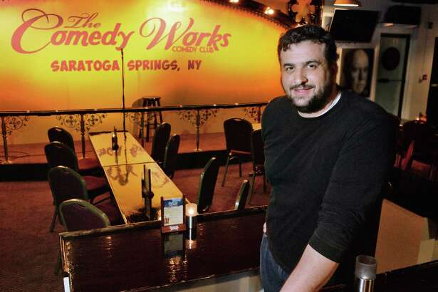 Tommy Nicchi in his new Comedy Works venue at 388 Broadway Friday May 6, 2016 in Saratoga Springs, NY.  (John Carl D'Annibale / Times Union) ORG XMIT: MER2017121114020879