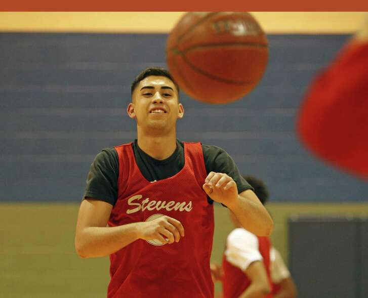 Stevens senior Jonathan Salazar suffered a serious knee injury last season. This year, he has led the Falcons to a 9-5 start.