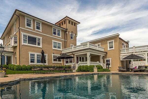 The 6,200-square-foot home at 144 Davenport Drive sold for $4.16 million, representing Stamford's biggest sale in three years. Once the summer estate for the Vanderbilt family, the home has 13 rooms and looks out onto Stamford Harbor.