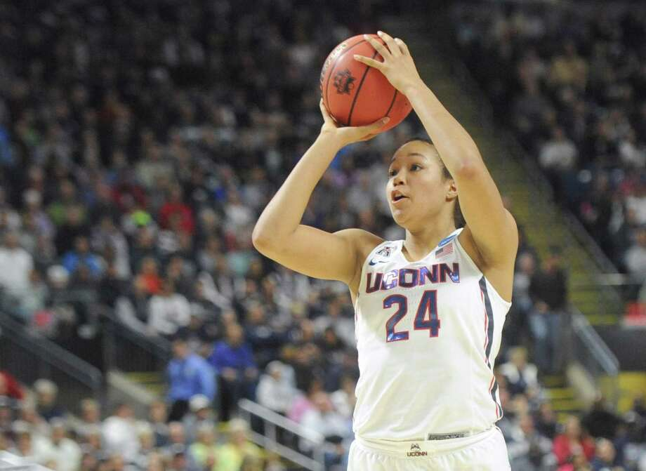 UConn's Napheesa Collier. Photo: Hearst Connecticut Media File Photo / Greenwich Time