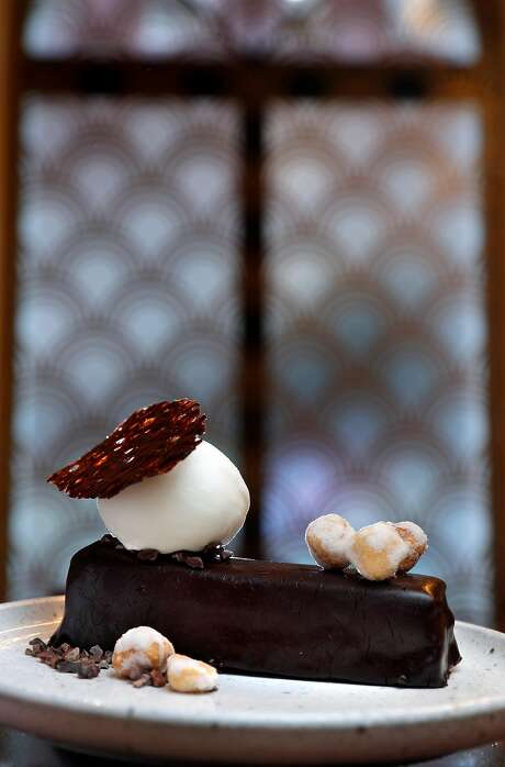 Chocolate with hazelnuts at the new Gibson. Photo: Carlos Avila Gonzalez, The Chronicle