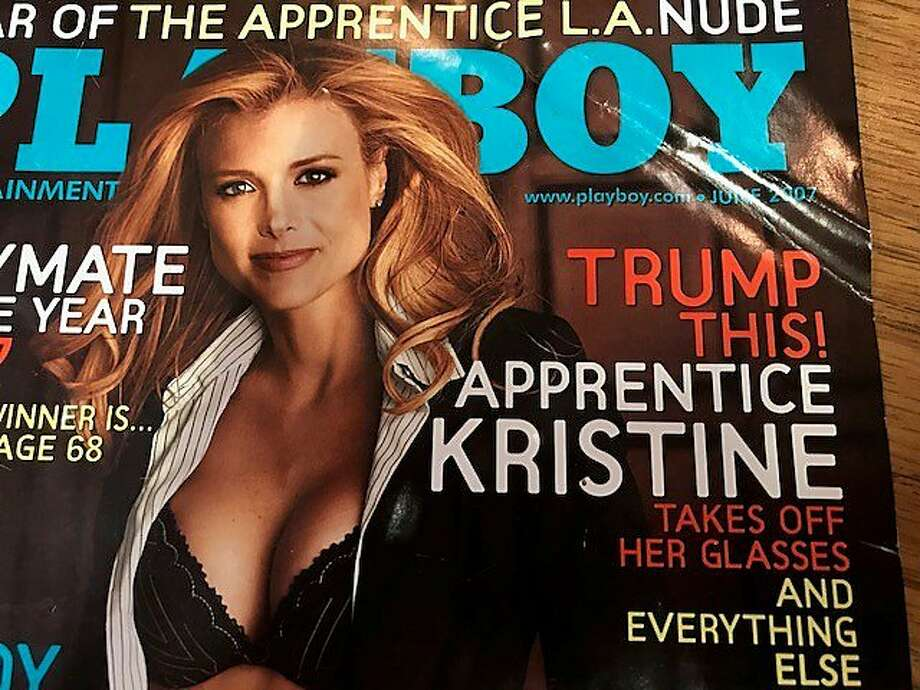 "Cover of Playboy with failed ""Apprentice"" Photo: Leah Garchik, San Francisco Chronicle"