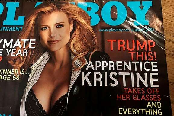 """Cover of Playboy with failed """"Apprentice"""""""