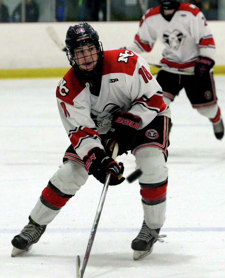 The 2017-18 season will be New Canaan's Gunnar Granito's third at the varsity level. Photo: Christian Abraham / Hearst Connecticut Media / Connecticut Post