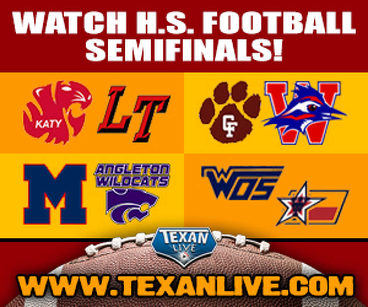 Watch livestreams of high school sports on www.texanlive.com.