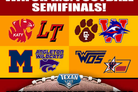 Watch livestreams of high school sports on  www.texanlive.com .
