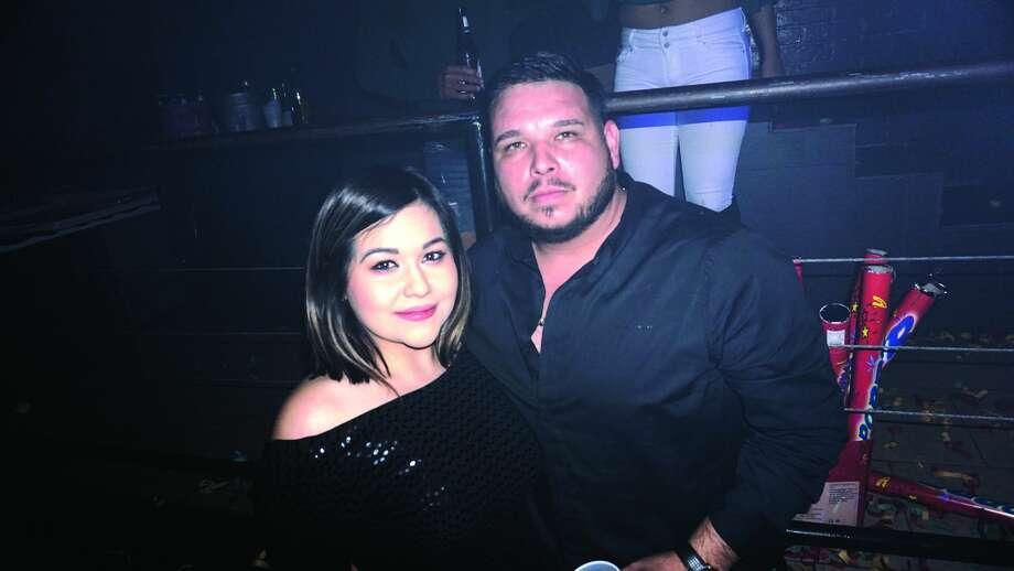 Cindy and Jesse Garcia at Club VibeFriday, December 15, 2017 Photo: Jose Gustavo Morales