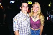 Yeriel Mangin and Yesenia Escobedo at Rumors Country Bar & Patio  Friday, December 15, 2017