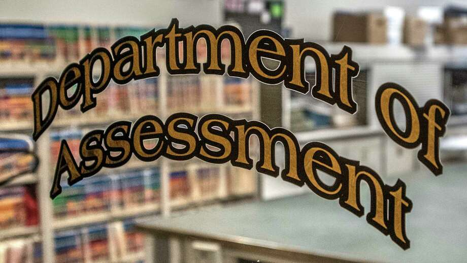 The logo on the door of the Department of Assessment in City Hall Thursday  Dec 14, 2017 in Albany, N.Y.   (Skip Dickstein/ Times Union) Photo: SKIP DICKSTEIN / 20042422A