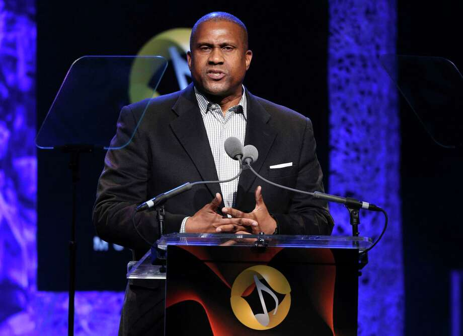 """FILE - In this April 27, 2016 file photo, Tavis Smiley appears at the 33rd annual ASCAP Pop Music Awards in Los Angeles. PBS says it has suspended distribution of Smiley's talk show after an independent investigation uncovered """"multiple, credible allegations"""" of misconduct by its host. (Photo by Rich Fury/Invision/AP, File) ORG XMIT: NYET672 Photo: Rich Fury / Invision"""