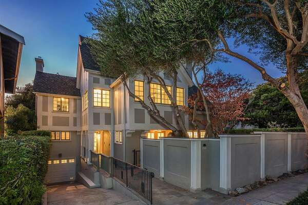 822 Mendocino Ave. is a five-bedroom Tudor in Thousand Oaks available for $2.495 million.