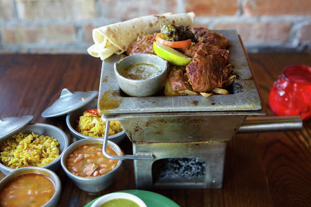 The Laurenzo family has opened a new El Tiempo Cantina at 20237 Gulf Freeway in Webster. It is the eighth El Tiempo in the Houston area. Shown: Old School Carnitas.
