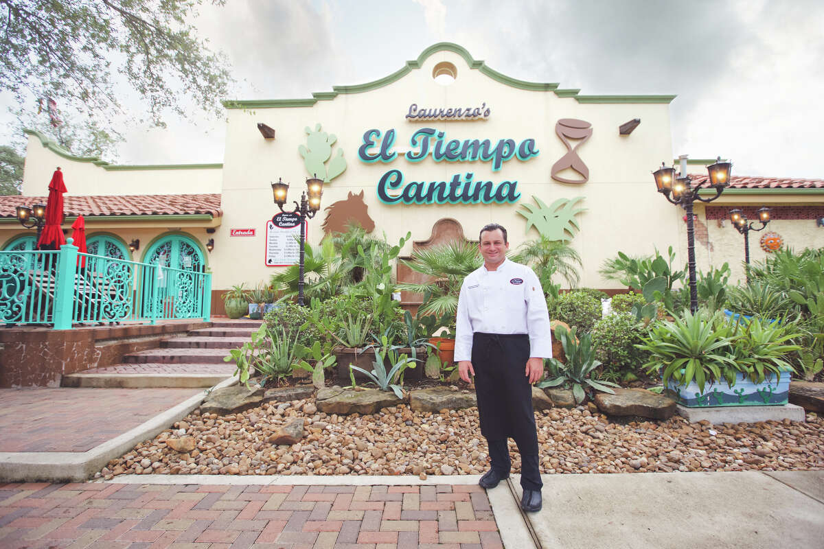 The Laurenzo family has opened a new El Tiempo Cantina at 20237 Gulf Freeway in Webster. It is the eighth El Tiempo in the Houston area. Shown: Domenic Laurenzo, executive chef, who owns the company with his father, Roland Laurenzo.