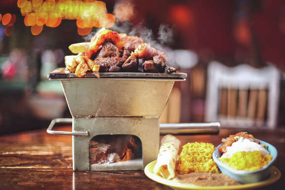 The Laurenzo family has opened a new El Tiempo Cantina at 20237 Gulf Freeway in Webster. It is the eighth El Tiempo in the Houston area. Shown: Mixed parrilla.