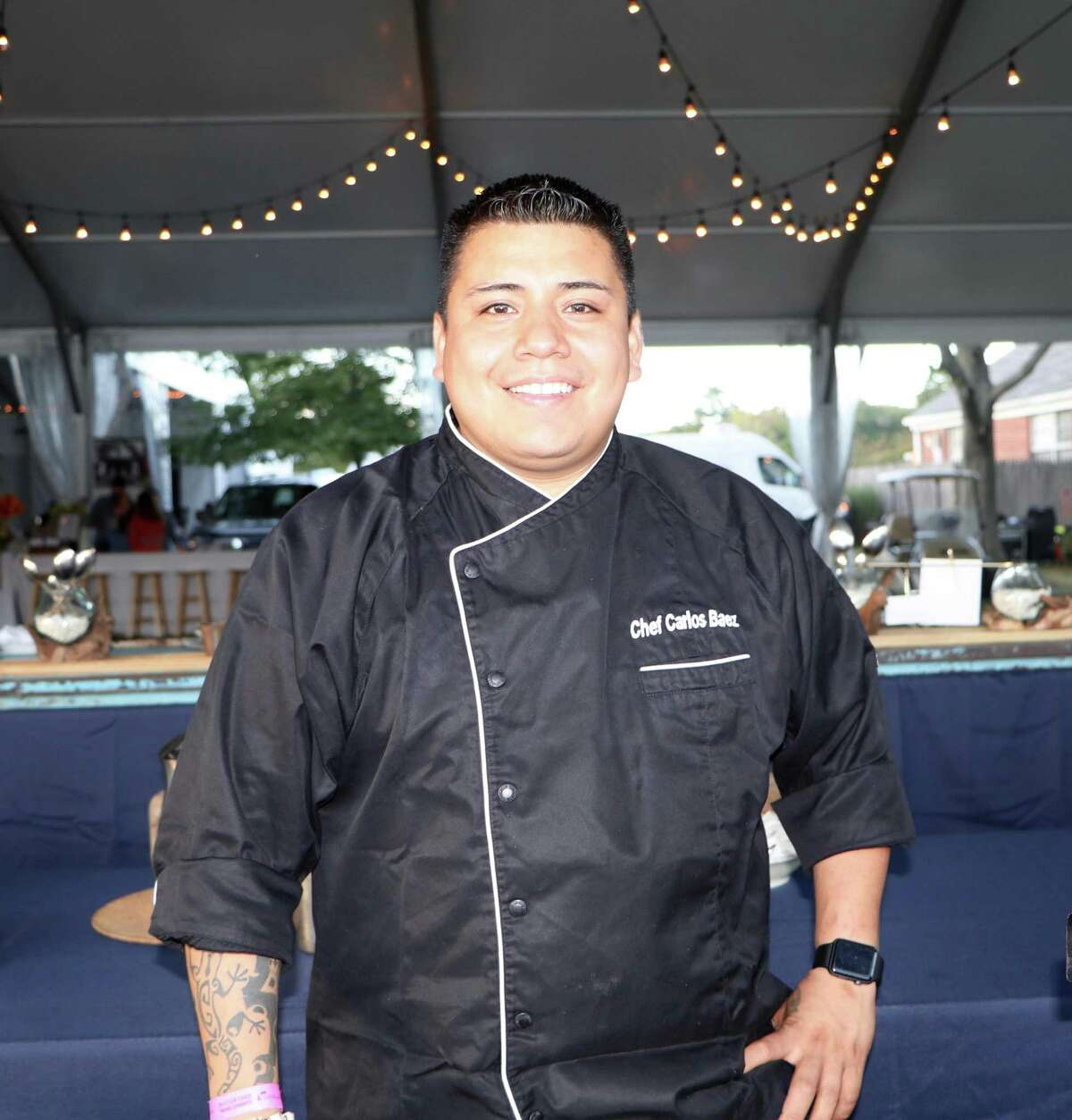 Executive chef Carlos Baez, of The Spread and El Segundo restaurants in Norwalk.