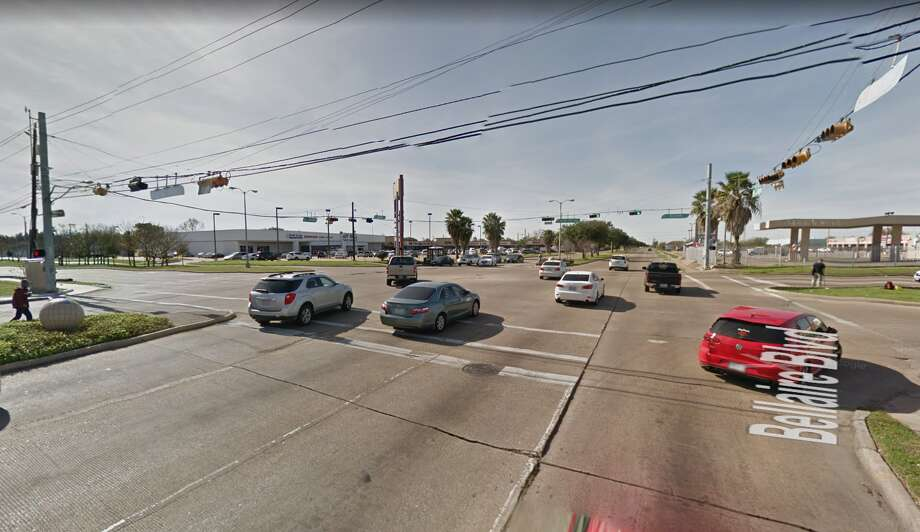 An 82-year-old woman died Dec. 14 from injuries she sustained two days earlier after being hit by a car as she crossed Bellaire Boulevard at the intersection with Synott Road, Houston Police said. Photo: Google Maps