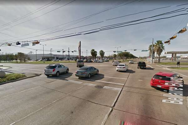 An 82-year-old woman died Dec. 14 from injuries she sustained two days earlier after being hit by a car as she crossed Bellaire Boulevard at the intersection with Synott Road, Houston Police said.
