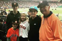 Sam Torn's lifelong love of baseball was a generational family affair at a World Series game.