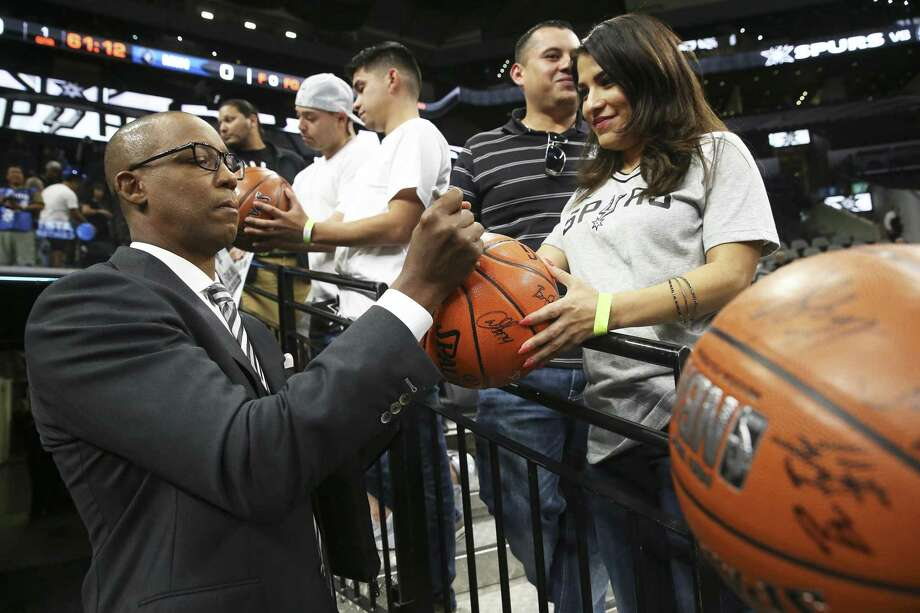 Former star player Sean Elliott has keen insight into the Spurs. Photo: Tom Reel /San Antonio Express-News / 2017 SAN ANTONIO EXPRESS-NEWS