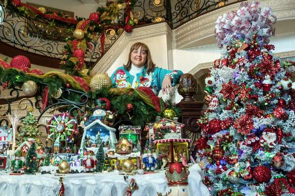 1of 18nagwa elrafie poses for a portrait surrounded by her christmas decorations on thursday dec 7 2017 in the woodlands brett coomer houston - Christmas Decorations Houston