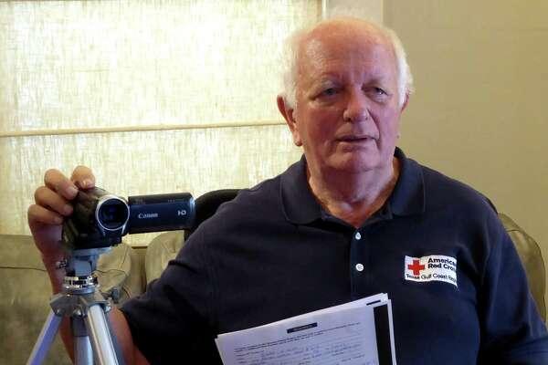 Arnold Van Ek is a Red Cross volunteer interviewer for the Veterans History Project.