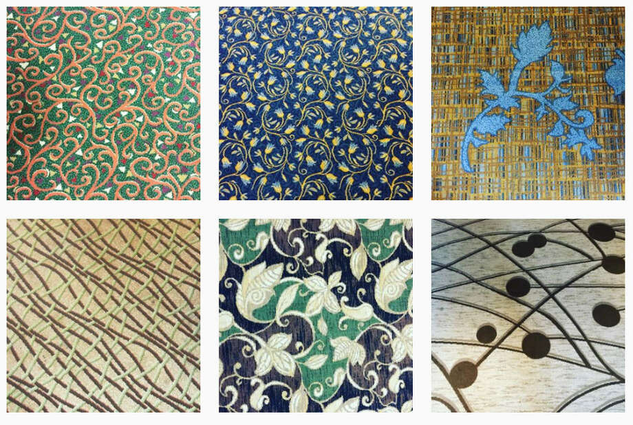 When photographer and corporate pilot Bill Young travels he documents the carpets at the hotels that he stays at around the world. The 49-year-old's hotel travelogue began in Aug. 2015 with carpet from a Marriott in Cincinnati next to the airport. Amazingly since that first post Young's My Hotel Carpet Instagram has amassed over 670,000 followers who love to double-tap close-up images of carpets with sometimes strange, psychedelic geometric designs.See more photos of the carpets that Young sees every week... Photo: Https://www.instagram.com/myhotelcarpet/