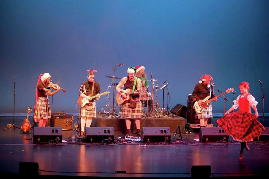 The Tartan Terrors will perform its Christmas show at The Palace Danbury on Dec. 16. Photo: Kelley Brower / Contributed Photo