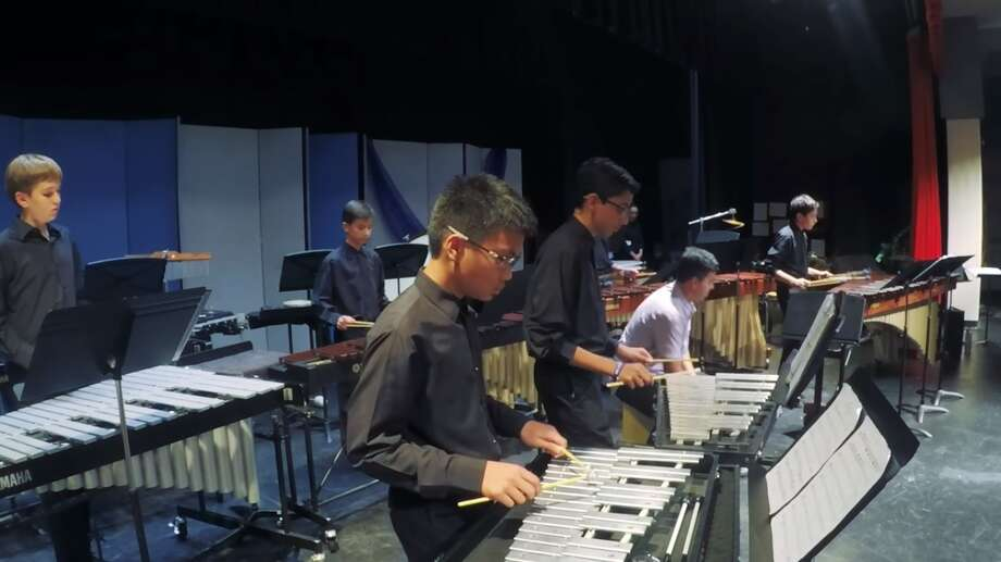 The Creekwood Middle School Percussion Ensemble was invited to perform at The Midwest Clinic International Band and Orchestra Conference. Photo: Screenshot From Humble ISD Inspiring Moments Video