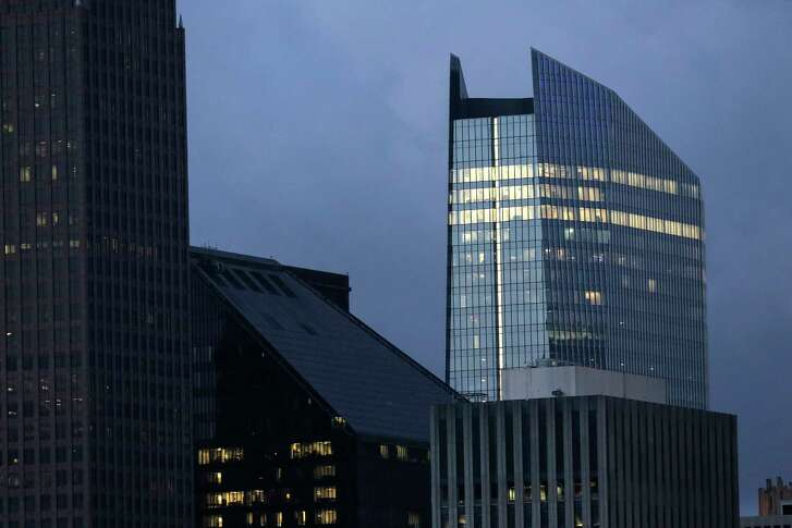 Downtown's newest skyscraper is at 609 Main. ( Elizabeth Conley / Houston Chronicle )