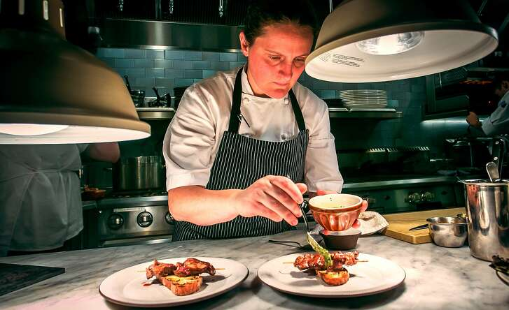 Chef/owner April Bloomfield at Tosca in San Francisco, Calif., is seen on November, 21st, 2013.