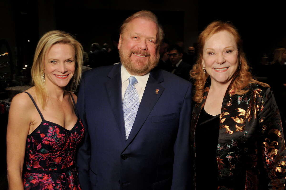 From left: Lisa Rydman, John Rydman and Lindy Rydman at Spec's annual Virtuoso Gala at the Royal Sonesta Hotel Wednesday Dec. 06,2017. (Dave Rossman Photo)