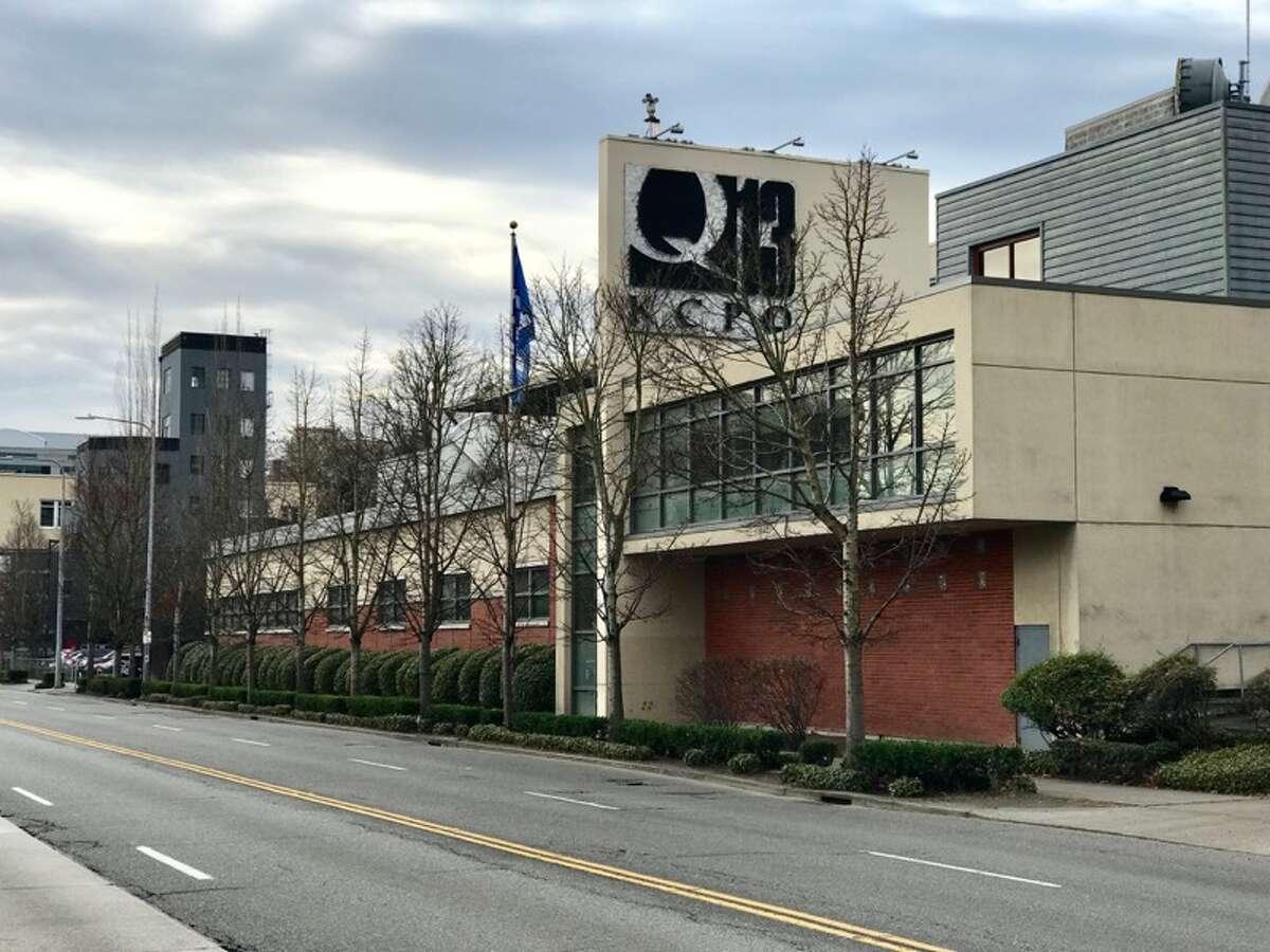 The KCPQ-TV studios on Westlake Avenue N. in Seattle.